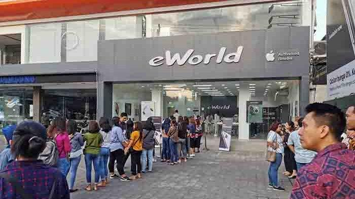 30 Persen Seri iPhone 11 di E World Denpasar Ludes dalam Waktu 3 Jam