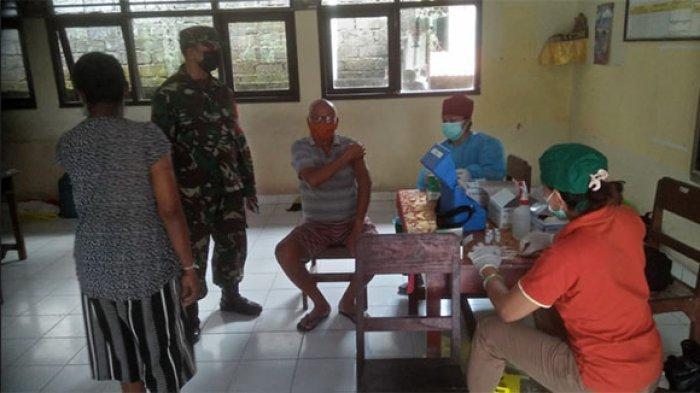 478 Warga Divaksin Covid-19 dalam Program Serbuan Vaksinasi di Desa Luwus Tabanan