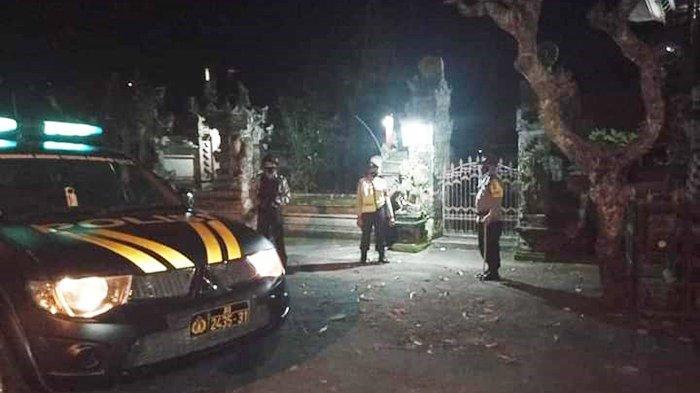 Marak Pencurian di Tempat Suci, Polsek Ubud Gianyar Intensifkan Patroli Malam