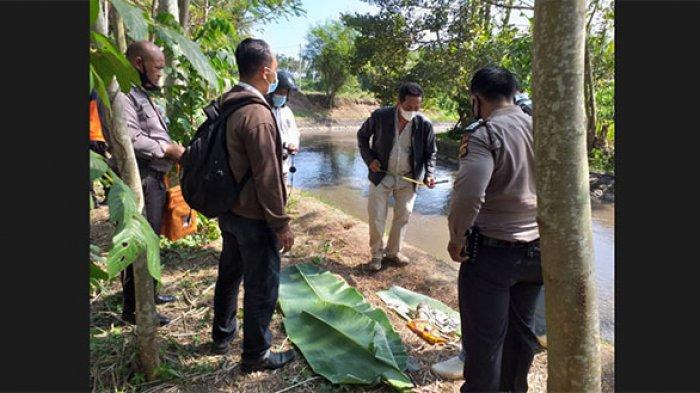 BREAKING NEWS: Orok Bayi Laki-Laki Ditemukan di Dam Sungai Tanah Putih Abiansemal Badung