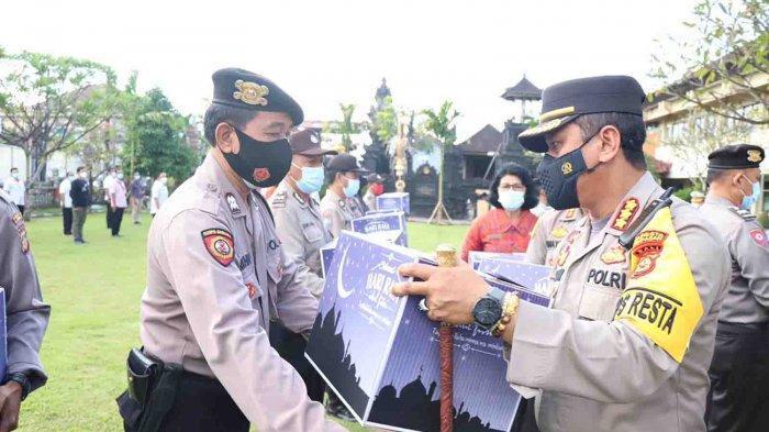 Kapolresta Denpasar Gelar Silahturahmi Hingga Sampaikan Selamat Hari Raya Idul Fitri 1442 H