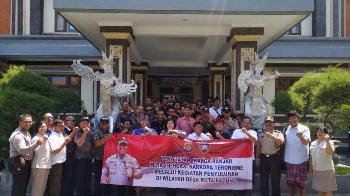 Ciptakan Situasi Aman Jelang Libur Natal & Tahun Baru 2020, Ditbinmas Polda Bali Sasar Daerah Wisata