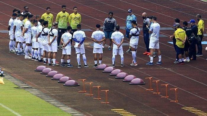 Persib Bandung Lakukan Latihan Untuk Piala Menpora 2021, Ada 2 Pemain Berlabel Timnas Indonesia