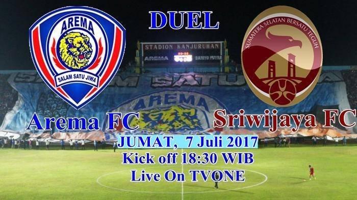 Full Time, Ini Skor Akhir Arema FC Vs Sriwijaya FC