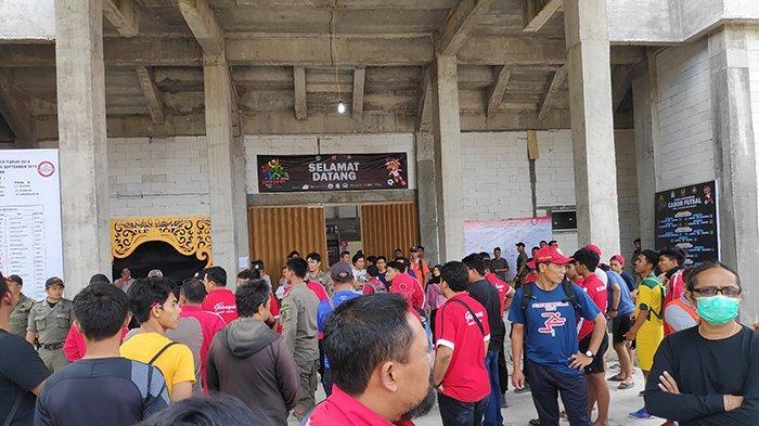 BREAKING NEWS: Buntut Aksi Pemukulan di Porprov Tabanan, Atlet Futsal Denpasar Diamankan Polisi