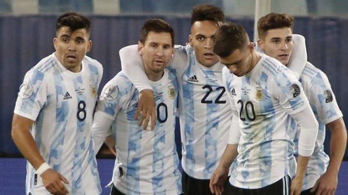 Hasil Bolivia Vs Argentina Copa America 2021, Tim Tango Menang Besar, Messi Cetak Dua Gol