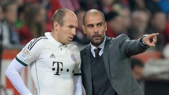 Arjen Robben Menilai Pep Guardiola sebagai Pelatih Terbaik di Dunia