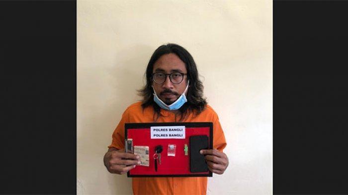 Pengusaha Laundry Nyambi Jadi Kurir Narkoba Dibekuk Jajaran Polres Bangli