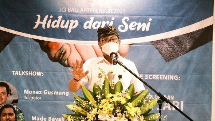 Wawali Jaya Wibawa Buka JCI Bali Artpreneur 2021, Bangkitkan Kewirausahaan Dalam Dunia Seni