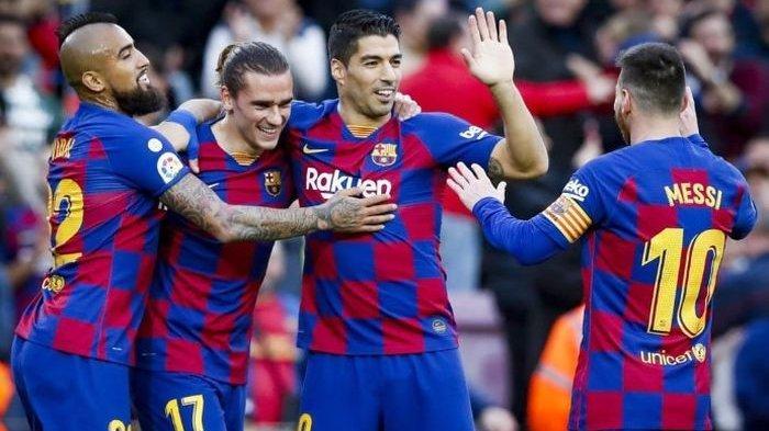 Suarez, Messi dan Pique Minta Ronald Koeman Pertahankan Mereka di Barca
