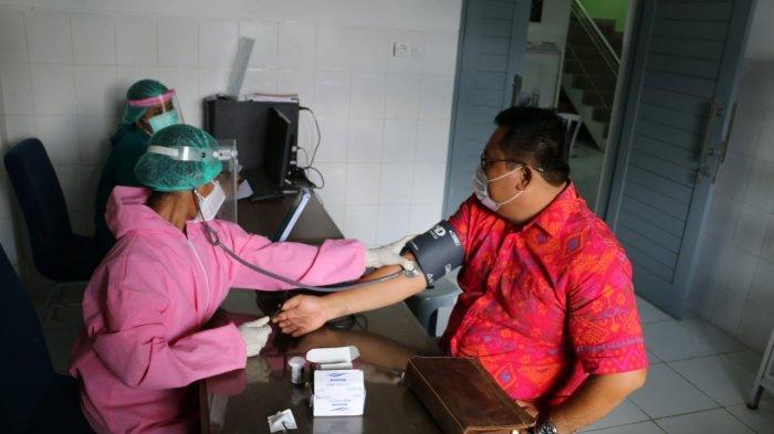 50 Orang Karyawan DTW Tanah Lot Tabanan Bali Mulai Vaksinasi, Persiapan Jadi Kawasan Zona Hijau