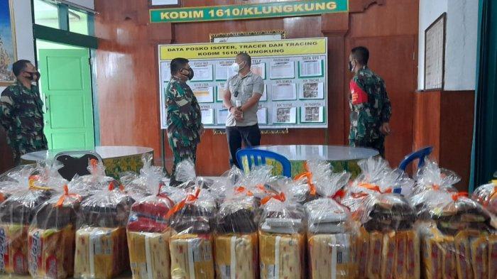 Asintel Kasdam IX/Udayana Sambangi Klungkung: TNI Harus Humanis dalam Penanggulangan Covid-19
