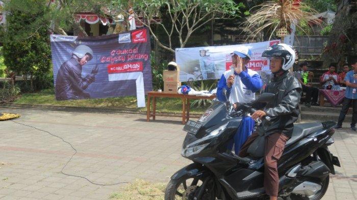 HUT Sekolah, Astra Motor Campaign Cari Aman dan Pentingnya Pakai Helm saat Naik Motor