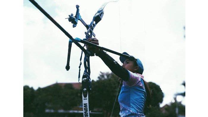 Erviera Kirana Ardani Mantapkan Teknik Jelang Grand Indonesia Open Archery Championship 2018
