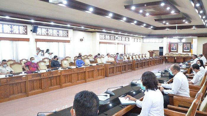 Temui DPRD Bali, KPU Bali Disarankan Sampaikan Anggaran Pemilu Lebih Awal
