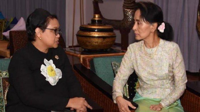 Tuduhan Korupsi Membuat  Aung San Suu Kyi Sulit Kembali ke Panggung Politik Myanmar