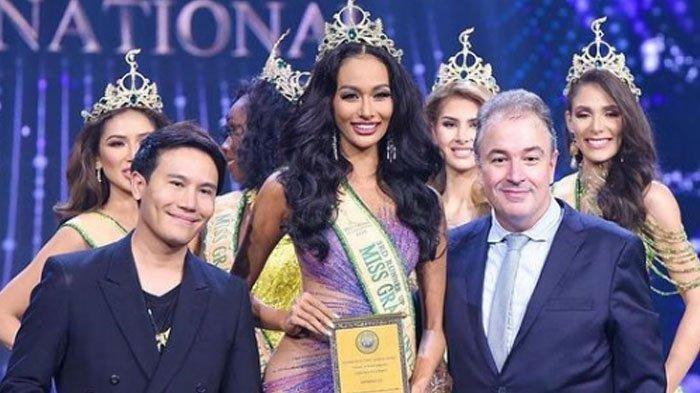 Sosok Aurra Kharisma Harumkan Indonesia, Raih Runner Up 3 Miss Grand International 2020 di Bangkok