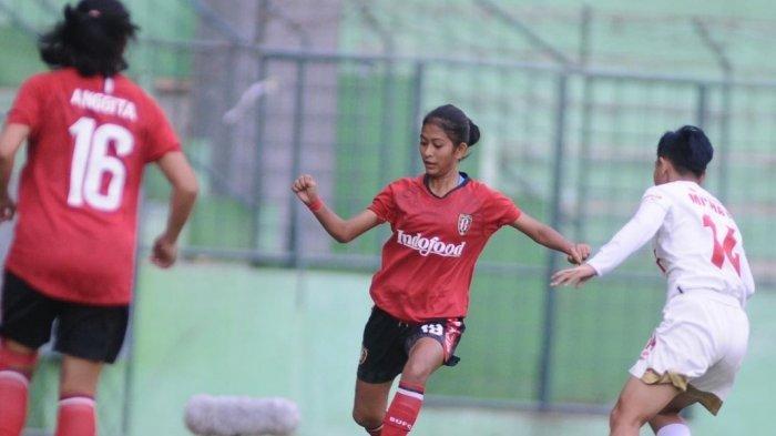 Pemain Bali United Wanita Ayu Lidya Jalani TC Timnas Indonesia