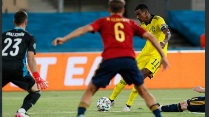 Babak Peratama Spanyol vs Swedia, Morata Sia-Siakan Peluang, Kiper Swedia Tangguh