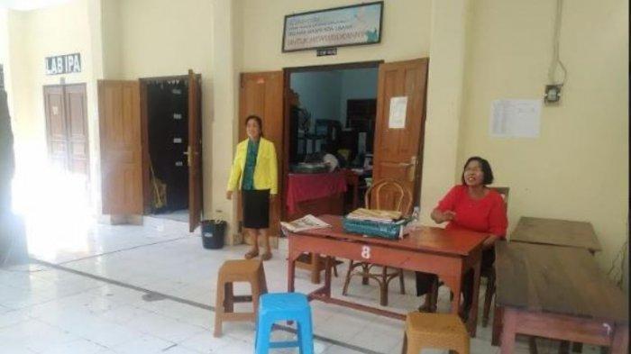 Nasib SMP PGRI di Tengah Kepungan Sekolah Negeri di Klungkung, Opsi Terpaksa Tutup