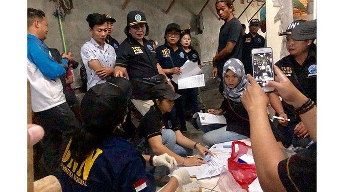 BNNK Badung Temukan 12 Orang Positif Narkoba Dalam Giat Operasi Bersinar di Desa Canggu