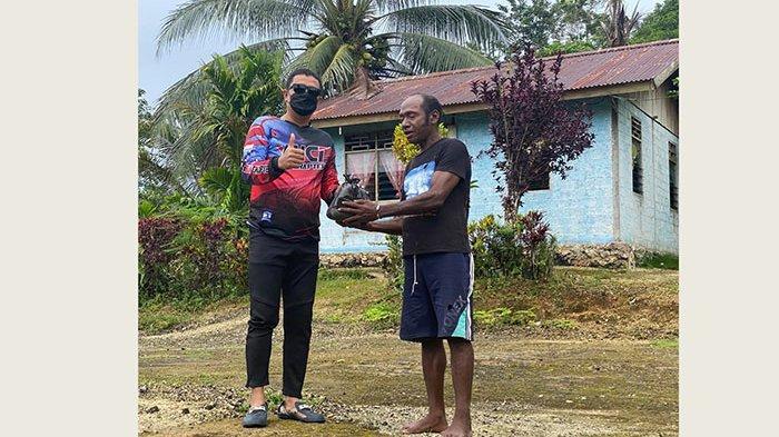 Catatan Touring dari Timur Indonesia, Berbagi Sembako hingga Promosi Destinasi Wisata di Tanah Papua
