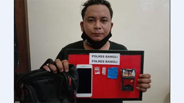 Supir Truk Diciduk Satres Narkoba Polres Bangli, Saat Digeledah Ditemukan Sabu dalam Bungkus Rokok