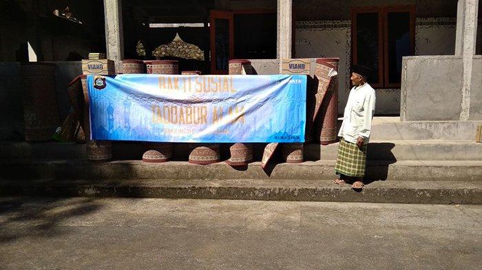 Remaja Masjid At Taqwa Polda Bali Gelar Bakti Sosial di Buleleng
