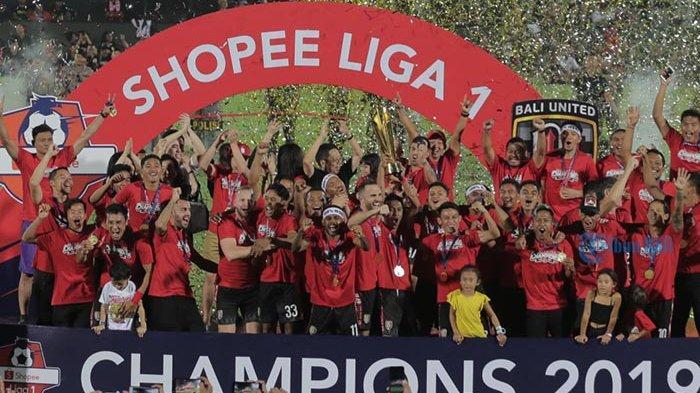 Bali United Pesta Champions 2019 Liga 1 di Stadion Dipta, Raih Dua Trofi Membanggakan Ini
