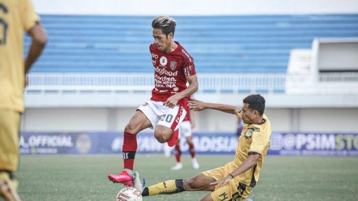 Gelandang Bali United Saimima Fokus Pemulihan Cederadan Berharap Kompetisi Liga 1 Segera Bergulir