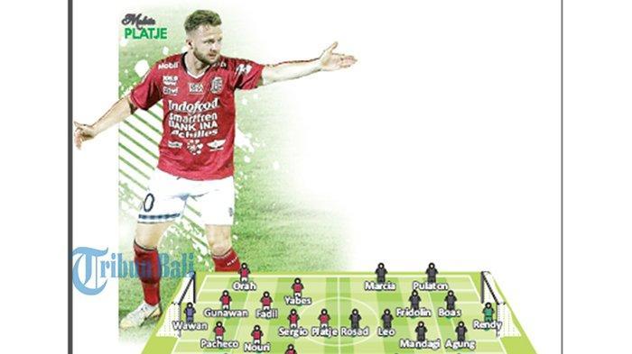 Bali United VS Semen Padang FCLive Indosiar Pukul 19.30 Wita, Kunci Posisi Puncak
