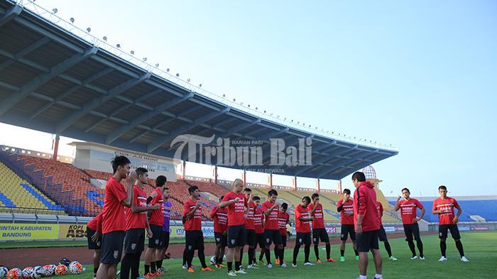 Ubah Ritual, Bali United Berlatih di Stadion Dipta Gianyar