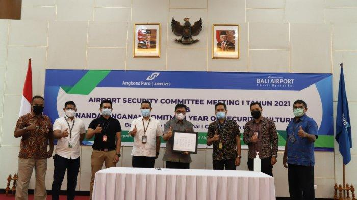 Year Of Security Culture, Bandara Ngurah Rai Bali Gelar Airport Security Committee Meeting