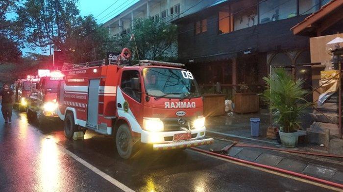 Pengendara Teriak Ada Kebakaran, Gusti Jayeng Lihat Api Membesar di Ubud