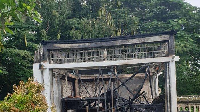 Kebakaran Bangunan Penjualan Tiket Pura Luhur Uluwatu, Begini Penjelasan Polisi