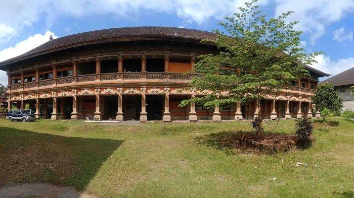 Bangunan Setengah Jadi di Kubu Mulai Diperbaiki, Akan Dimanfaatkan Sebagai Kantor DPRD Bangli