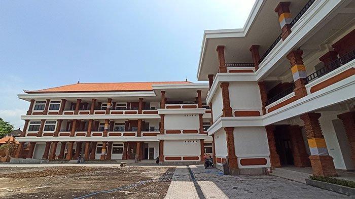 Gedung SMPN 14 Denpasar Siap Digunakan untuk Belajar Tatap Muka 2021