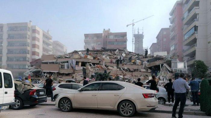 Gempa 7 M Guncang Turki hingga Yunani, 4 Tewas & 120 Luka, Berikut Ini Fakta, Penyebab & Kondisinya