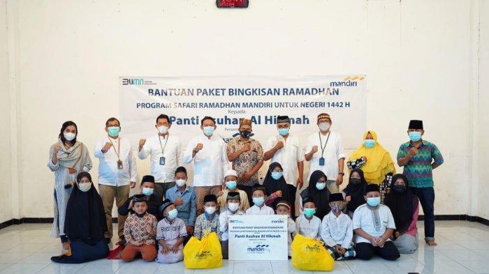 Bank Mandiri Bali & Nusra Gelar Berbagai Aktivitas Sosial Pada Bulan Ramadhan 1442 Hijriah