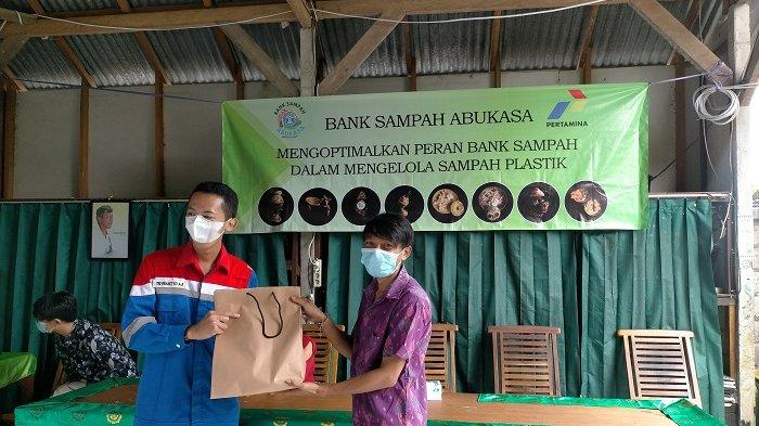 Bank Sampah Abukasa Adakan Launching CSR Pertamina Terkait Pengoptimalan Peran Bank Sampah