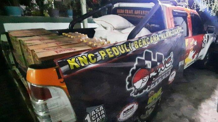Hapus Stigma Arogan di Jalanan, Klub Motor Ninja Bali - Jatim Galang Kepedulian Bencana Alam NTT