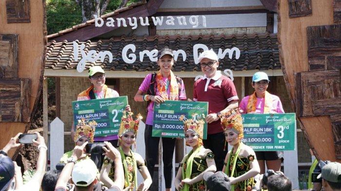 Pelari Kenya Puncaki Podium Banyuwangi Ijen Green Run