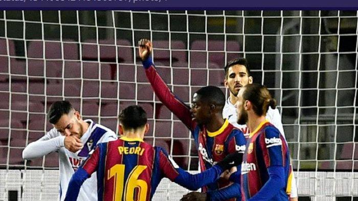Hasil Lengkap dan Klasemen Liga Spanyol - Sevilla Benamkan Villarreal, Barcelona Melempem