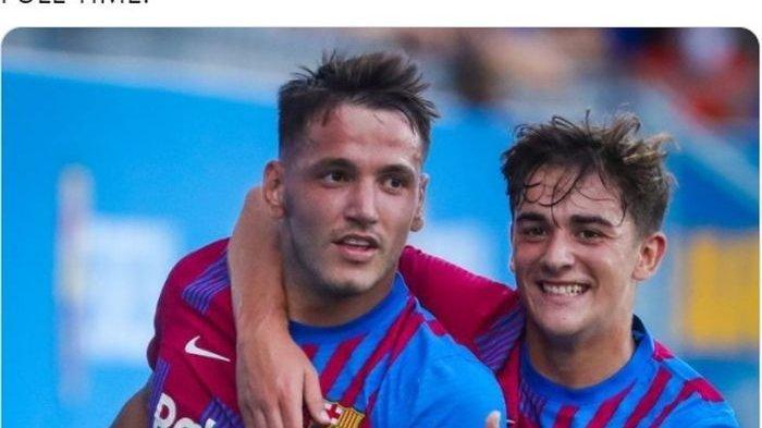 HASIL Barcelona Vs Gimnastic de Tarragona: Tanpa Lionel Messi, Striker Pinggiran Cetak Hattrick