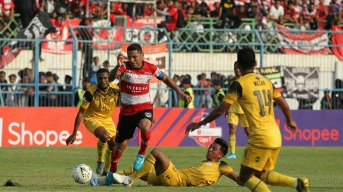 Hasil Madura United Vs Barito Putera, Andik Vermansah dkk Hanya Raih Satu Poin