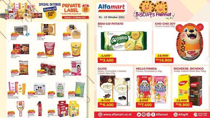 BARU! PROMO Alfamart 10-15 Oktober 2021: Dapatkan Diskon UpTo 50%, Biskuit, Beras, Sabun Lebih Hemat