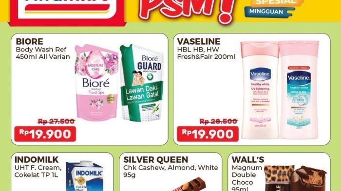 HANYA HARI INI Promo Alfamart Produk Kesehatan Diskon 35%, Beli Kecap Gratis Margarin, Snack 5.000an