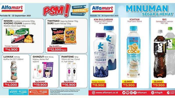 Promo Alfamart 20 September 2021, Beli Vaseline Gratis Minyak Goreng, Big Cola Rp9.900