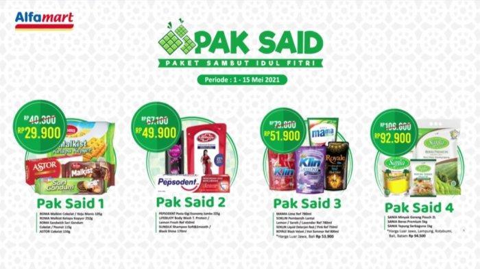 BARU, Promo Alfamart 2-15 Mei 2021, Bingkisan Idul Fitri Mulai Dari Rp29.900, Paket Berbuka Rp9.900