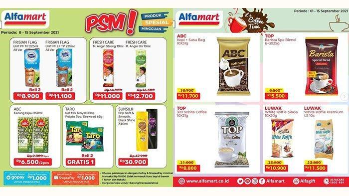 BARU! PROMO Alfamart 9 September 2021: Fresh Care Rp11.000, Aneka Kopi, Deterjen, Camilan Hemat